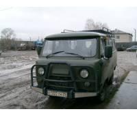 """Обвес силовой передний на УАЗ 452 """"Медведь"""" увеличенный и усиленный со съемным кенгурином"""