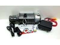 Лебедка электрическая 12V Electric Winch 12000lbs / 5443 кг с кевларовым тросом 10mm