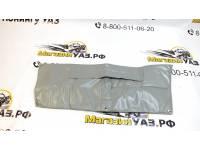 Утеплитель радиатора УАЗ Патриот (дорестайлинг) светло-серый полиэстер 600д, войлок