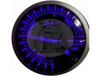Датчик топливо воздушной смеси 60 мм, синяя подсветка (выносной) 09bl