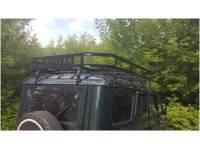 Багажник на УАЗ Хантер Викинг 10 опор  2м, с кроншт. под галогенки
