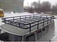 Багажник на УАЗ 452 Экспедиционный (12 опор)