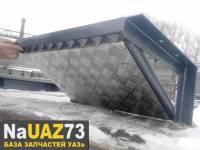 Скрытая площадка под лебёдку на УАЗ Патриот