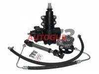 Комплект замены системы гур Delphi на YuBei УАЗ 3163 Патриот (механизм, насос, карданчик, шланги, штуцера) Autogur73
