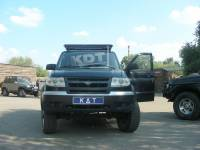 Багажник-площадка экспедиционный - УАЗ Патриот KDT